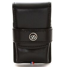 ST Dupont Leather Lighter Case for Line 2 and Gatsby #180024(Black) - New