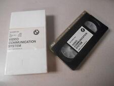 BMW VHS Video Cassette Tape The Desert Fox Video Communication System #D