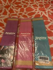 New listing AoraLivre Booty Bands with Exercise Guide Strength Fabric 3 Pack