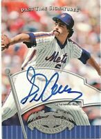 2005 Upper Deck Past Time Signatures Auto Sid Fernandez New York Mets #SF