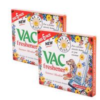 Vac Vacuum Cleaner Freshener Summer Meadow Hoover Disc For Pet Lovers 2 x 6 Pack