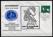 Apollo 14. Flug zum Mond. Astrophilatelie. Sonderbrief. SoSt, Bochum. BRD 1970