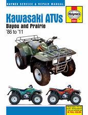 HAYNES Repair Manual - Kawasaki Bayou 220/250/300cc & Prairie 300cc ATVs '86-11