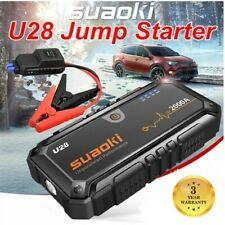 Suaoki 2000A Jump Starter Booster Batterie Voiture Démarrage 12V Voiture LED USB