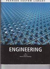 Pearson Custom Library Engineering RIT Fall 2013 Materials Science Tech  E1-30