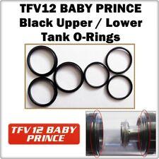 6 - TFV12 BABY PRINCE Black Up / Lower Tank Orings ( ORing O-Rings smok Seals )