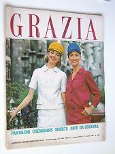 GRAZIA // rivista settimanale // 7 LUGLIO 1963  N. 1168 //