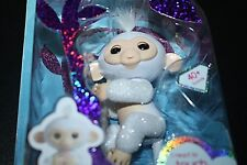 New Fingerling Baby Sugar Girls WowWee White Glitter in Package Interactive -M