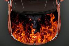 Monster Fire Full Color Car Hood Vinyl, Car Vinyl Graphics gc 940