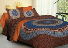 Duvet Cover Quilt Cover Mandala Bedding Set with Pillow Cases King Size Throw