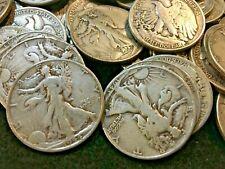 90% Silver Circulated Walking Liberty Half Dollars You - Choose How Many