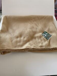 camel lap throw National Wildlife Federation 59in X 40in