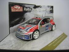 PEUGEOT 206 WRC M.CAMPOS R.SILVA #62 RALLYE MONTE CARLO 2004 1/43 VITESSE