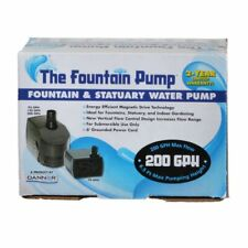 LM Danner Fountain Pump Magnetic Drive Submersible Pump SP-200 (200 GPH) with 6'