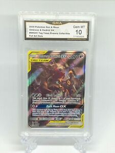 Pokemon SM241 Black Star Promo Umbreon & Darkrai GX GEM MINT GMA 10 (not PSA)