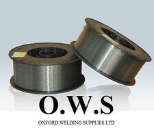 2 x Rollos Sin gas Núcleo Fundente Hilo De Soldadura Mig 0.9 0.45 kg SUPER6