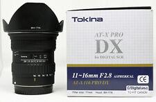 Tokina AT-X 11-16mm F/2.8 AF Objektiv Canon