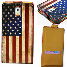 Pocket Card Holder Vertical Leather Case For Samsung Galaxy Note 3 III N9000