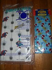 2pc Lot Beach Spiderman Birthday Party Goods Multi-color NOS