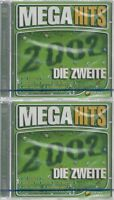 CD--NM-SEALED-VARIOUS -2002- - DOPPEL-CD -- MEGAHITS 2002-DIE ZWEITE