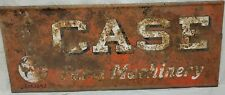 Case Farm Machinery Collectable Vintage Antique Man Cave Sign Farming...