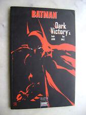 BATMAN - Dark Victory 1 - Sémic books VF