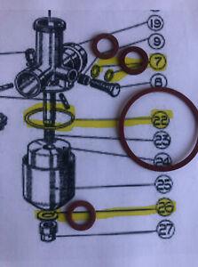 Villiers Carburetor Gaskets Genuine British Seagull Parts