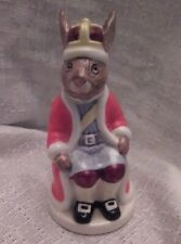 "Vintage Bunnykins Royal Family King John Royal Doulton Figurine 4"" Tall 1985"