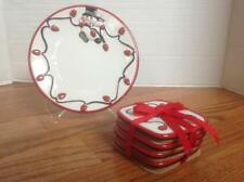 Fitz and Floyd Cheers Set of 4 Coasters and Snack Plate ~ Darling!