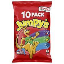 Jumpy's Crunchy Potato Chips 10 Pack 180g