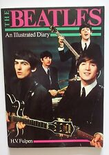 1985 THE BEATLES  AN ILLUSTRATED DIARY w 1000 PHOTOGRAPHS BY H.V. FULPEN SC BOOK