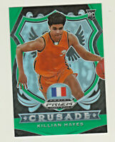 2020-21 Panini Prizm Draft CRUSADE GREEN PRIZM KILLIAN HAYES RC Rookie Pistons