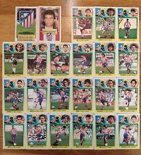 ED. ESTE LIGA 93/94 - LOTE 23 CROMOS ATLÉTICO MADRID (bajas, colocas, fichajes)