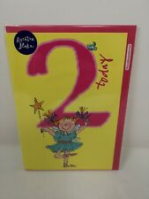 Quentin Blake Design Greeting Card - 2nd Birthday - For Her - Same Day Post
