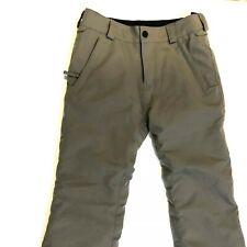 VOLCOM Youth Gray Snowboard Snow Ski PANT Freakin Snow Chino Size XL/14Y 15KMM