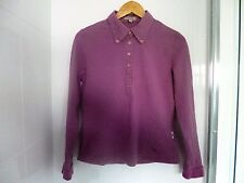 Burberry Ladies Polo Shirt Size XL-*100% Guaranteed Authentic Burberry*