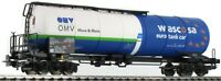 PIKO HO 54912 Gravity Tank Car Wascosa-OMV V New Boxed