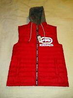 NEW NWT Ecko UNLTD Rhino Men's Small Hooded Puffer Vest Red