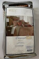 Waterford Linens Cavanaugh European Pillow Sham 26x26 Cinnabar New Other