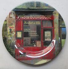 STORE FRONT VINS DE BOURGOGNE PARIS SAKURA EVOLUTION MELAMINE DINNER PLATE