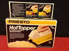 NIB Vintage Presto Automatic Hot Topper Butter Melter Dispenser #0300 Sprayer