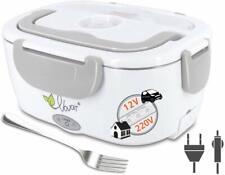 Boite Chauffante Lunch Box Electrique Voiture 12V Repas Isolant Acier Boulot