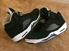 2013 Nike Air Jordan 5 V Retro Oreo Black White Size 8 (136027-035)