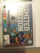 Uefa euro2020 Adrenalyn xl  limited card Kingsley Coman