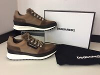 Dsquared2 Ds2 Sneakers, Runners, Uk98 Eu43, Beige, Trainers NEW RRP £375