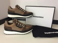 Dsquared2 Ds2 Sneakers, Runners, Uk 6 Eu40, Beige, Trainers NEW RRP £375