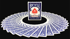 Paris Back Blue Bicycle Playing Cards Poker Size Deck USPCC Custom Limited New