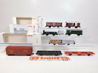 CM516-1# 8x Märklin H0/AC Wagen NEM KKK: 46161+46157 etc, leichte Mängel