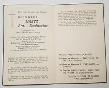 ANT. - DESIDERIUS NAETS WERCHTER 1894-1954