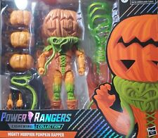 PUMPKIN RAPPER POWER RANGERS MIGHTY MORPHIN LIGHTNING COLLECTION! NIB FREE SHIP!
